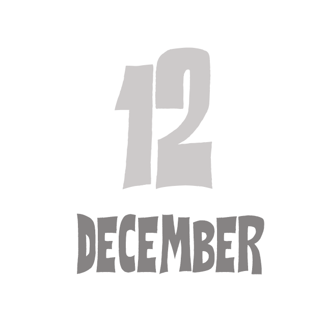 12月のお休みと例のアレ