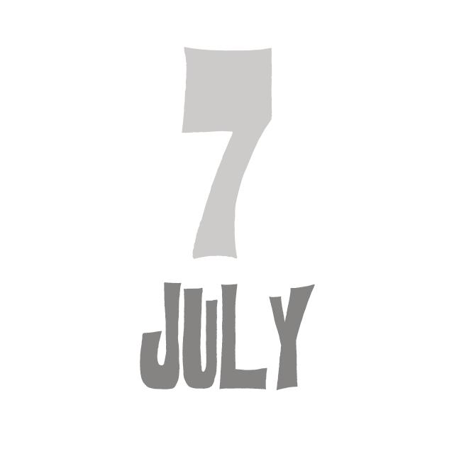 7月のお休み