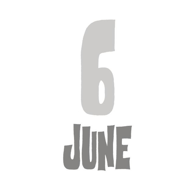 6月のお休み